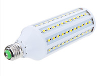 Wholesale High Power W E27 led LM LED Corn Lighting Bulb Lamp V Warm White or White light lamp