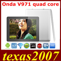 Wholesale Latest Onda V971 A31 Quad Core inch android tablet pc IPS Retina x1536 pixel GB RAM GB HDMI Camera