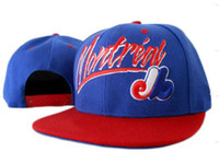 Wholesale Hot New Baseball China Montreal Fashion Fifty Snapbacks caps cap for men headwear hat Blue Snapback hats