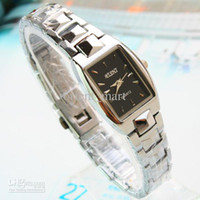 Wholesale Simple Stylish Mature Women Stainless Steel Watches Minimalist Business Best Gift