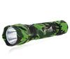10 Pcs Lot New WF-501B CREE Q5 LED Flashlight 5 Modes And 210 Lumens Green Camouflage Water Resistant
