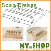Wholesale Soap Box Designs Natural S Superba cm Handmade Wooden Soap Holder Bath Sets JJ0020