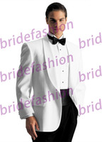 Polyester discount items - Big Discount Hot Item High Quality Custom Made Handsome Jacket Pants Groom Men Suits