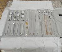 Wholesale Portable Jewelry Storage Case Jewelry Roll Bag for Travel Velvet Jewelry Organizer for Multi Item Ne