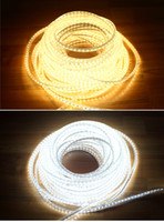 Wholesale M V led flexible strip warm white white leds m w m waterproof IP65 m