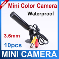 Wholesale 10 pieces Mini Bullet Security CCTV Mini Waterproof Outdoor Camera