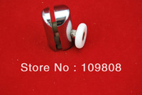 Wholesale single shower door rollers suitable for mm glass door diameter of glass door pop up single shower wheels