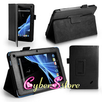 Wholesale 100pcs New Folio Stand Holder Lichee Litchi Flip PU Leather Case Cover For Acer Iconia B1 B1 A71 Tab B1 quot