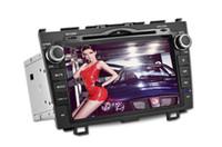 2 DIN car tv radio - Car DVD Player for Honda CRV Radio Built in GPS Navigation TV iPOD function