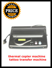 Wholesale Hot Sale Pro LCD Digital Black Tattoo Thermal Transfer Copier Stencil Machine Spirit Thermal Paper Tattoo Stencil Supplies