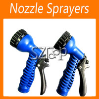 Wholesale Water Gun Water Spray Nozzle Sprayers amp Nozzles For Expandable Garden Hose Pattern Function Via DHL