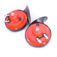 Wholesale 12V Mini Universal Snail Horn for Car Motorcycle Double Frequency Electric Horn Multi tone