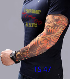 Wholesale Fake Arm Tattoo Sleeves with fashion tatoo designs Novelty Sleeves tattoo art