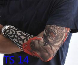 Wholesale Tattoo sleeve tattoo sock tatoo t shirt unsize for arms or legs colorful tatoo