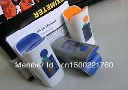 Wholesale Fingertip Pulse Oximeter spo2 monitor OLED screen SPO2 waveform graph display colors Visual Alarm