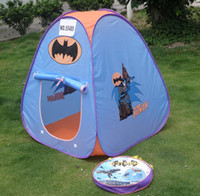 Wholesale Lovely Batman children tent indoor play equipment kids pop up tent kids tent playing NO