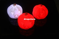 Wholesale changeable colors led pumpkin lamp led Cushaw light Easter Day holiday party Festival decoration