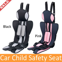 Wholesale Pink Top Quality Child Safety Seat Manufacturers Selling High Quality Safety Belts Accessories Baby Car Seat Pink Stock Drop