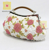 Shoulder Bags Genuine Leather Handbags Evening Bags, Party Clutch bags handbags ,Slap-up embroidery evening bags , Women 2013 Birthday Gift