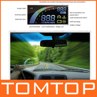 Wholesale Ifound Universal ActiSafety Multi Car HUD Vehicle mounted Head Up Display System OBD II OBDII K879