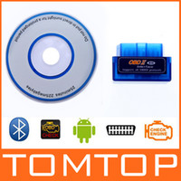 Wholesale Mini V1 ELM327 ELM OBD Bluetooth Auto Car Scanner obdii Diagnostic Tool work on Android K880