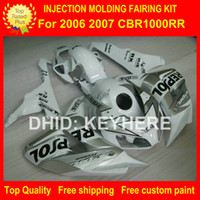 CBR1000RR aftermarket body parts - ABS Plastic fairing kit for HONDA CBR1000RR CBR RR fairings motorcycle parts body work aftermarket silver REPSOL G2a