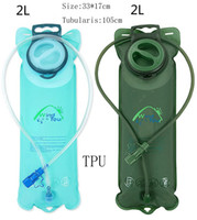 Wholesale 2L TPU Water Bag Hydration For Bike System Bladder Backpack Pouch Hiking Climbing Dropshipping
