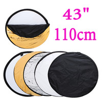 Wholesale New quot inch cm in Portable Photography Studio Multi Light Collapsible Photo Disc Reflector F