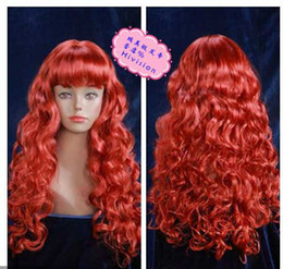 Wholesale HEAT OK Long Curly Wavy w Bangs Multi Blonde amp Dark Blonde Wig Hair Wigs amp Accessories Cosplay Wigs