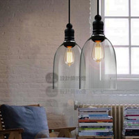 Wholesale Modern crystal bell glass pendant lights Dining room Indoor Contemporary lighting fixtures PL138
