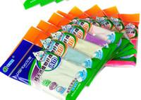 Wholesale 100pcs TOP Multi function Washing Towel Cleaning Towel High Wood Fiber Wash Cloth Dishcloth Dish Towel Rag Duster LF003a