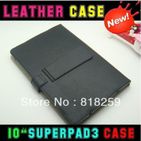 Wholesale Cheap Inch Leather Case for flytouch superpad ZT180 tablet pc amp dropshipping