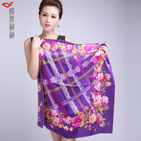 Long Lace Woman 2013 mulberry silk summer women's chiffon silk scarf cape