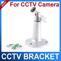 Wholesale Silver plastic Base Wall Mount Stand Bracket For CCTV Camera