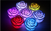 Wholesale 200pcs LED light Romantic Rose LED Night Light Brithday Valentine s Day Gift