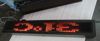 Wholesale p20 red high refresh rate led programmable sign display board