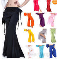 Women Polyester Pants Women Yoga Tribal Belly Dance Costume Pants