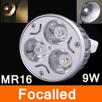 Wholesale MR16 W V Led Bulbs Lamp Leds Warm White PURE WHITE Top Quality Led Spot Down Light Energy Saving Light CE ROHS