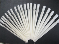 Wholesale 50 tips Fan Shaped Nail Art Display Natural Chart for Polish Gel Display Tools
