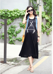 Wholesale 2013 fashion women dress round neck knee casual dress
