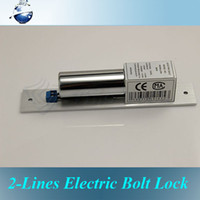 Wholesale 2 Lines Electric Drop Bolt Lock Fail Safe DC V Made by Stainless Steel Heavy duty