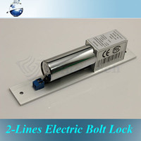 Wholesale DC V Stainless Steel Heavy duty Fail Safe Lines Electric Drop Bolt Lock for Door Access Control