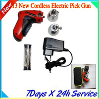 New Cordless Electric Pick Gun locksmith tool KLOM LOCK PICK