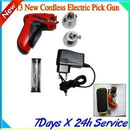 New Cordless Electric Pick Gun locksmith tool KLOM LOCK PICK