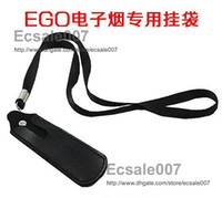 Not Specified bag c - Fashion New eGo Leather Pouch Bag Necklace String Neck Lanyard for eGo C eGo T eGo W eGo F eGo D Electronic Cigarette E cigarette