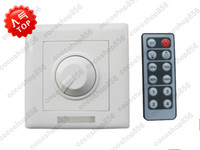 Wholesale LED V V Dimmer Switch With Keys IR Remote Control Adjustable MR16 Bulbs amp Strips