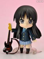 Wholesale K ON Mio Akiyama Nendoroid PVC Action Figure Model Toy Collection