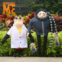 Wholesale Despicable Me Plush Toy quot Gru amp quot Doctor Nefario Collectible Doll Rare Villain Papa Cuddly Stuffed Animal style