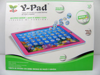 baby learn spanish - 2013 new Y pad English Spanish Bilingual Tablet ypad tablet computer for children as gift toy