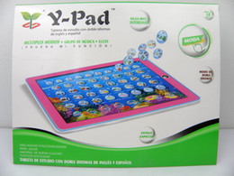 Wholesale 2013 new Y pad English Spanish Bilingual Tablet ypad tablet computer for children as gift toy